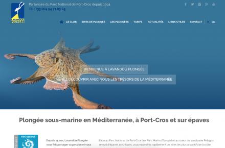 Page d'accueil Lavandou Plongée